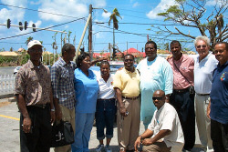 Grenadian pastors with Bob Simpson